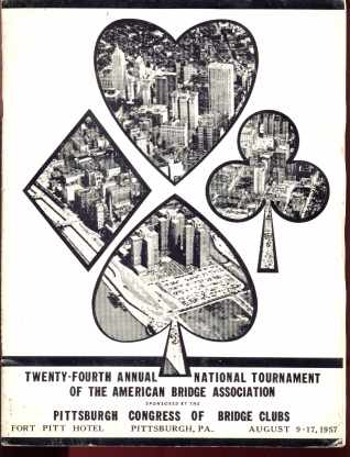 Program 1957 Nat'l Tournament Am Bridge Assoc