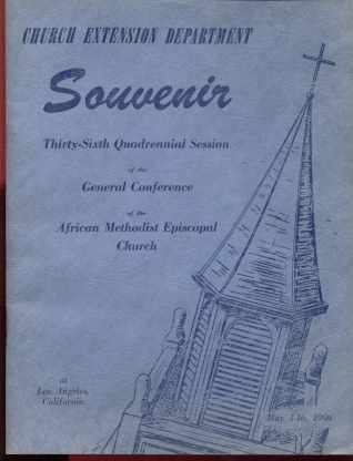 AME 1960 36th Convention Souvenir Booklet