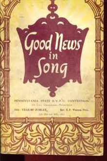 Good News in Song 1953 BYPR Convention Book