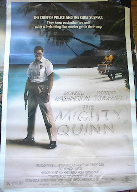 THE MIGHTY QUINN 1987 *ing DENZEL WASHINGTON