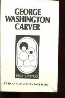 George Washington Carver Brotherhood Wk 1989
