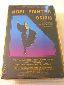 APRIL/11/1980 NOEL POINTER CONCERT POSTER