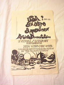 1971-72USA AN AFRO AMERICAN ARTIST PROGRAM