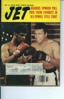 JET Magazine, Ali & Spinks, 9/14/78