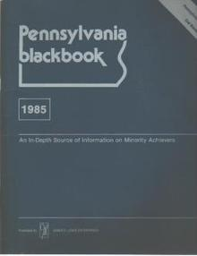 PA Blackbook 1985 Blacks in Business & Gov