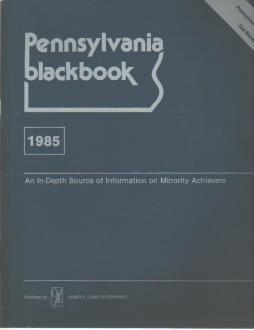 PA Blackbook 1985 Blacks in Business & Gov