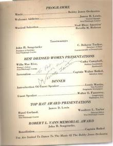 Pgh Courier 1976 Awards Signed USRep Fauntroy