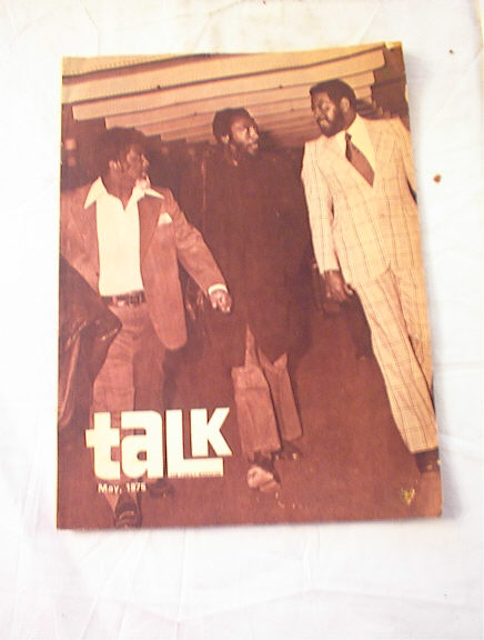 MAY,1975 TALK THE FAMILY MAG DICK GREGORY