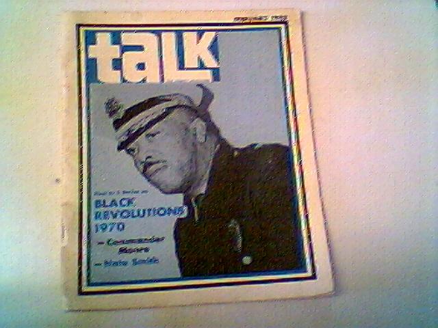 TALK FEBRUARY 1970 BLACK REVOLUTIONS