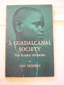 A Guadalcanal Society The Kaoka speakers