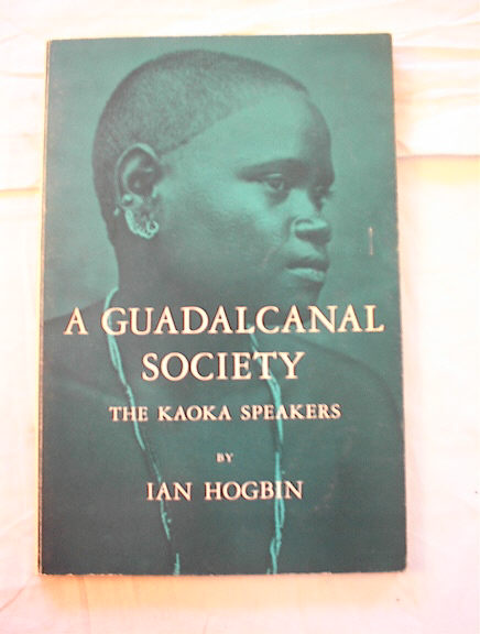 A Guadalcanal Society The Kaoka speakers