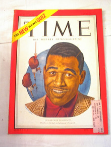 June 25,1951 Time  Sugar Ray Robinson cover