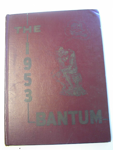 The 1953 Bantum of Harriet Truman High