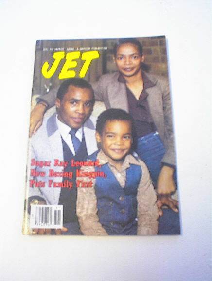 Jet Magazine,12/20/73,Sugar Ray Leonard cover