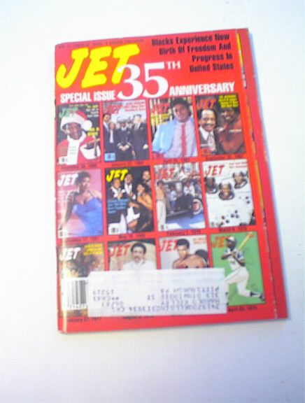 Jet Magazine,11/17/86,35th Anniversary issue