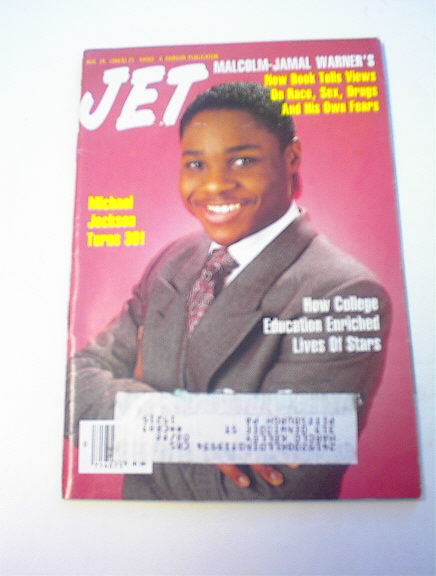 Jet Magazine,8/29/88,Malcolm Jamal Warner cov