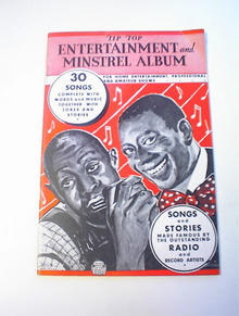 Tip Top Entertainment and Minstrel Album 1936