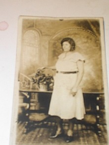 Ca 1920 BLACK Real Photo Post Card