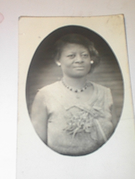 Ca 1920 D. Pace Photographer of BLACK Woman