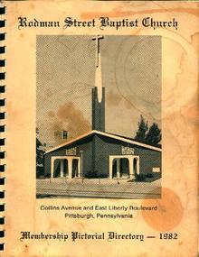 Rodman Street Baptist Church Directory-Pgh Pa