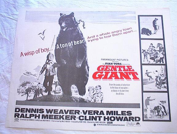 GENTLE GIANT *ing DENNIS WEAVER & VERA MILES