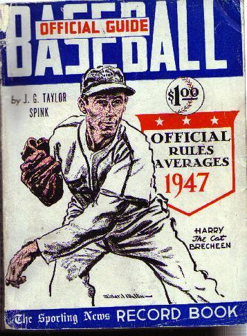 1947 Official Basebal Guide