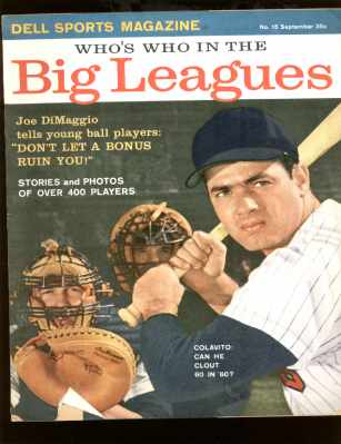 Who's Who in Big Leagues Joe DiMaggio article