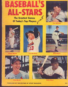 Baseball's All-Stars Mag. 1958