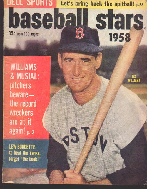 Dell Sports Baseball Stars '58 T. Williams