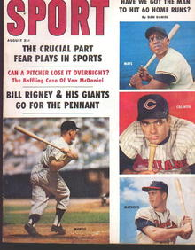 Sport Mag'59 w/Mantle,Mays,Colavito,Mathews