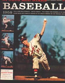 Sports All Stars Baseball Edition '58