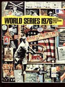 World Series 1976 Official Prog Great Photos