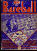 1943, BB Official Playing Rules