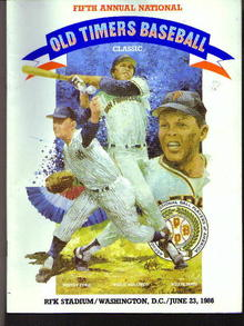 1986, Old Timers Baseball,
