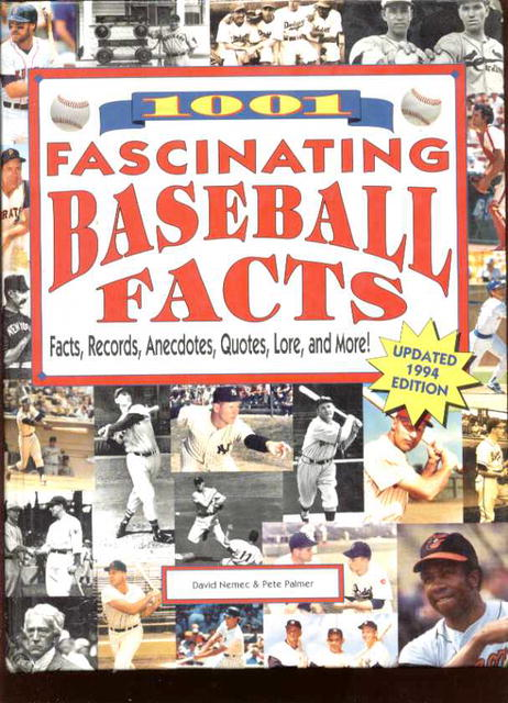 1001 Fascinating Baseball Facts Great photos