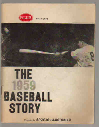 The 1959 Baseball story (sports illustrated)