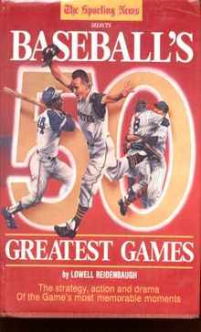 Baseballs 50 Greatest Games 1986 great photos