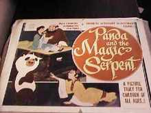 Panda & the Magic Serpent Japanimation 1961