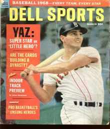 Dell Sports march 1968 Yastrzemski