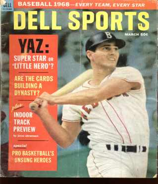 Dell Sports march 1968 Yastrzemski