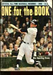 One For the Book 1968 Baseball Records