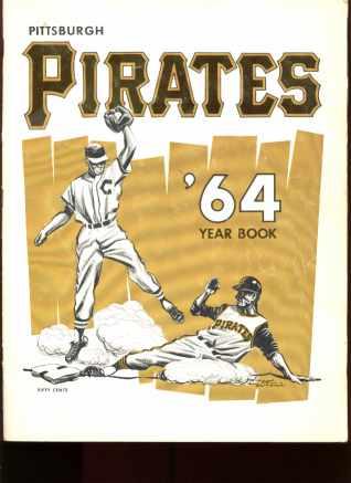 Facsimile Autographed Pgh Pirates 1964 Yrbook
