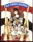 Old Timers Baseball 6th Annual Program 1987