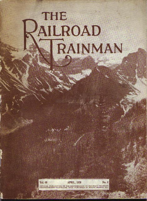 The RR Trainman magazine, 1928-31, 4 pc