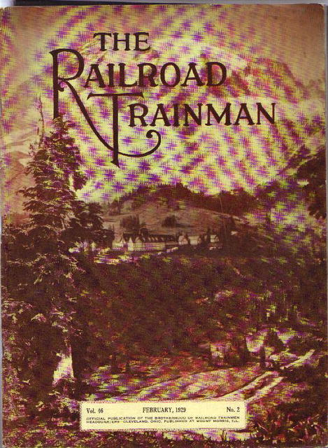 The RR Trainman magazine, 1929