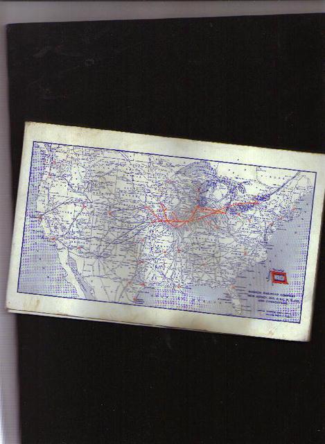 Wabash RR Co., notepad, ca. 1940