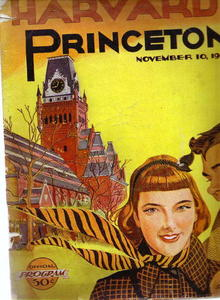 Harvard/Princeton official program, 1951