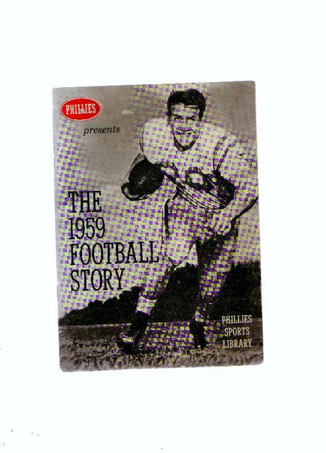 The 1959 Football Story, booklet