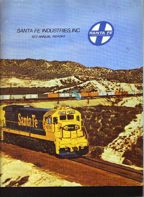 Santa Fe Industries, 1972 Annual Report