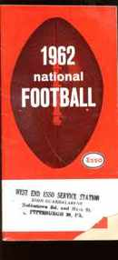 National Football 1962 Great photos info